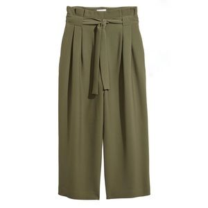H&M High Waisted Wide Leg Pant